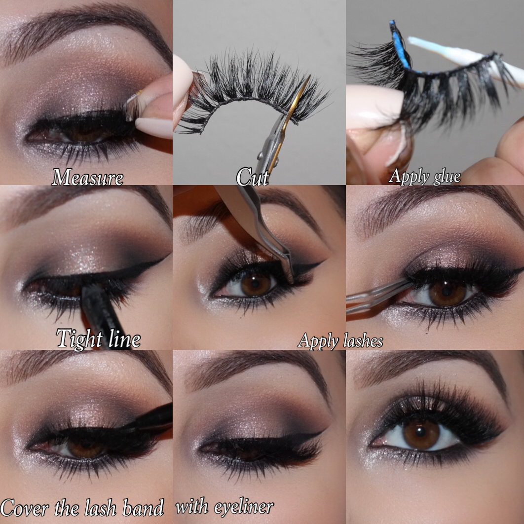 How To Apply Mink Eyelashes Iikonn